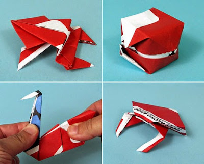 making of origami