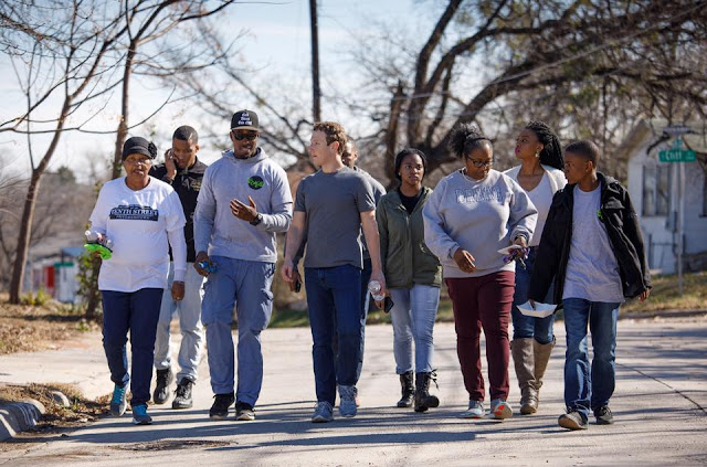 The first state I'm visiting this year is Texas,Mark Zuckerberg says