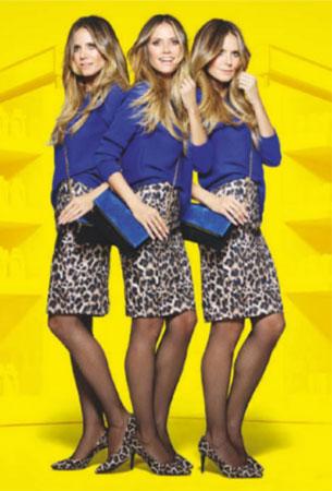 falda ropa colección Heidi Klum Lidl