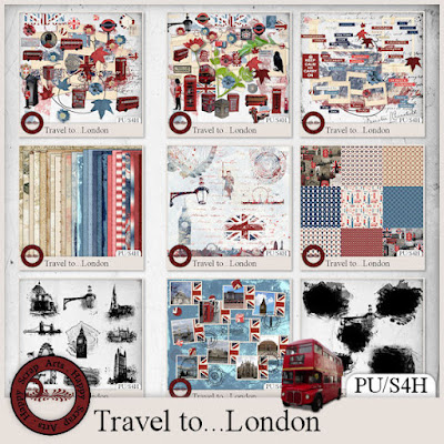 Travel to...London by Happy Scrap Arts