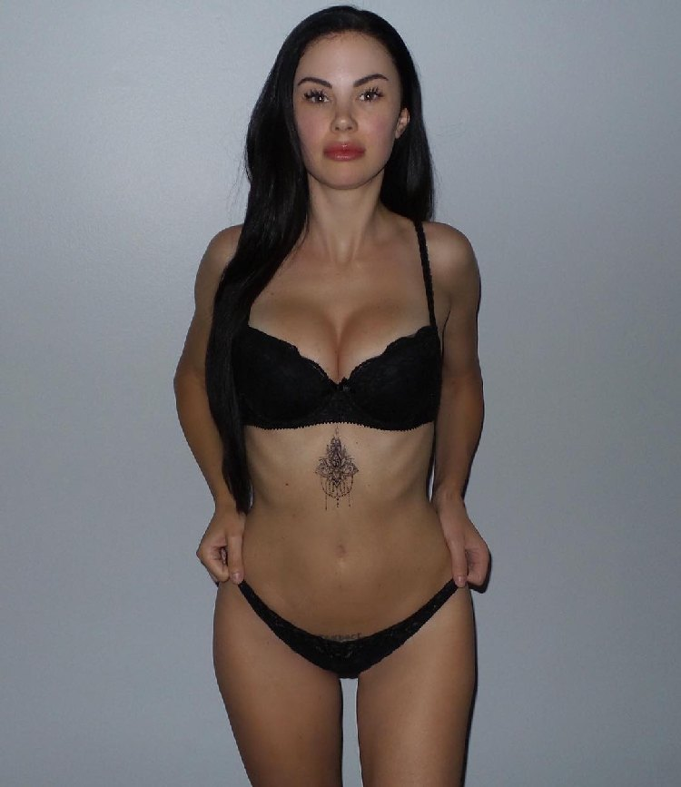 Jayde Nicole fitness model canadian