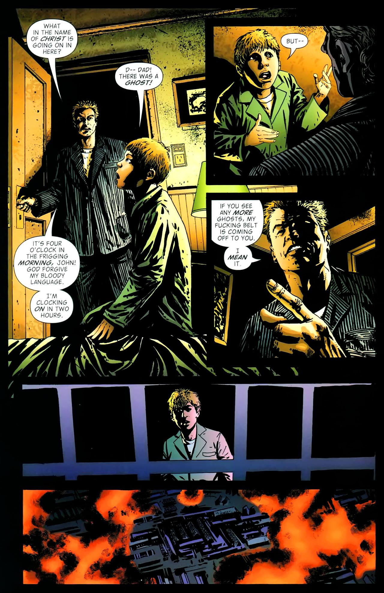 Read online John Constantine Hellblazer: All His Engines comic -  Issue # Full - 14