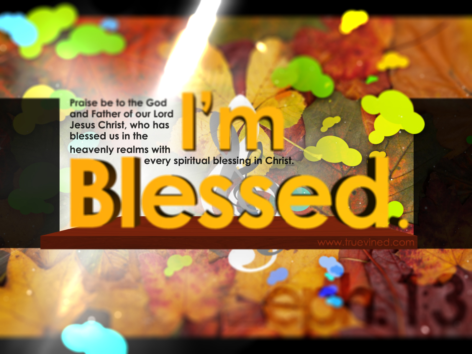 I Am Blessed Wallpaper I'm Blessed - The fres...