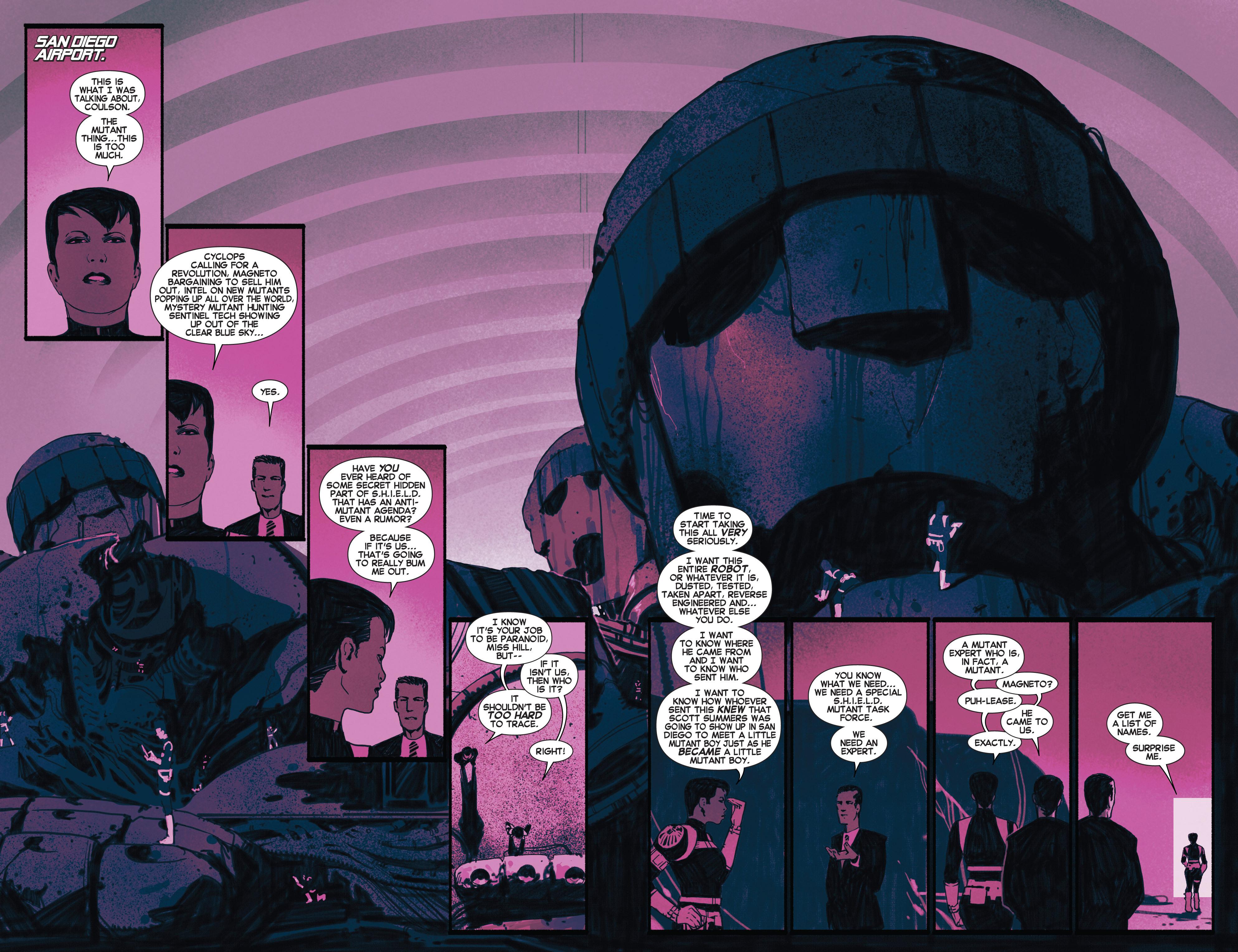 Read online Uncanny X-Men (2013) comic -  Issue #6 - 13