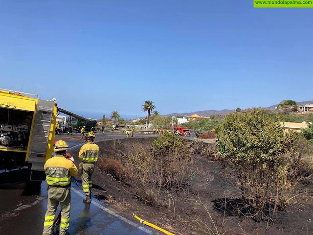 Se produce un conato de incendio en El Paso