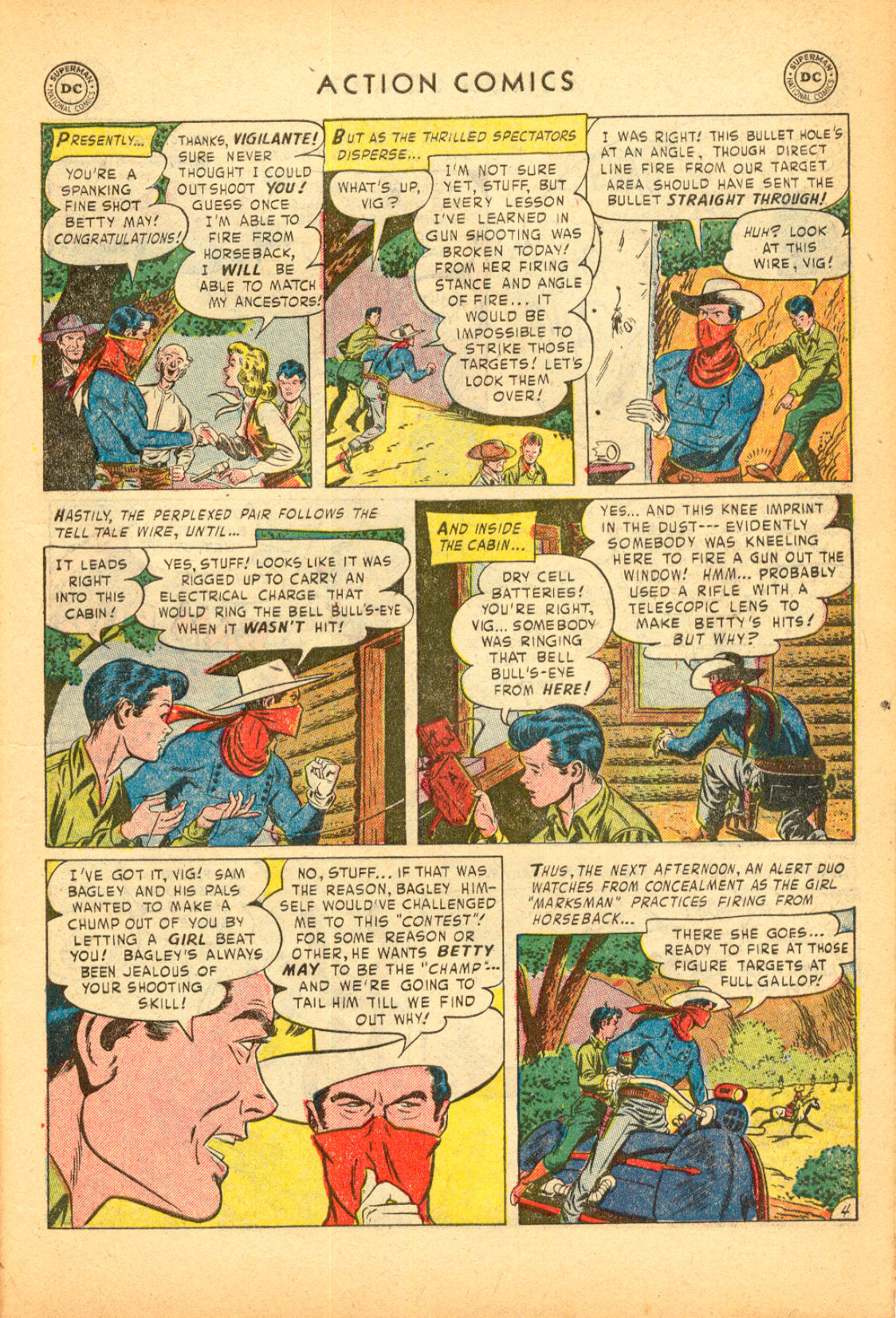Read online Action Comics (1938) comic -  Issue #174 - 37