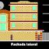 مخطط مشروع عمارة سكنية طابقين + 3 طوابق مع محلات تجارية اوتوكاد dwg