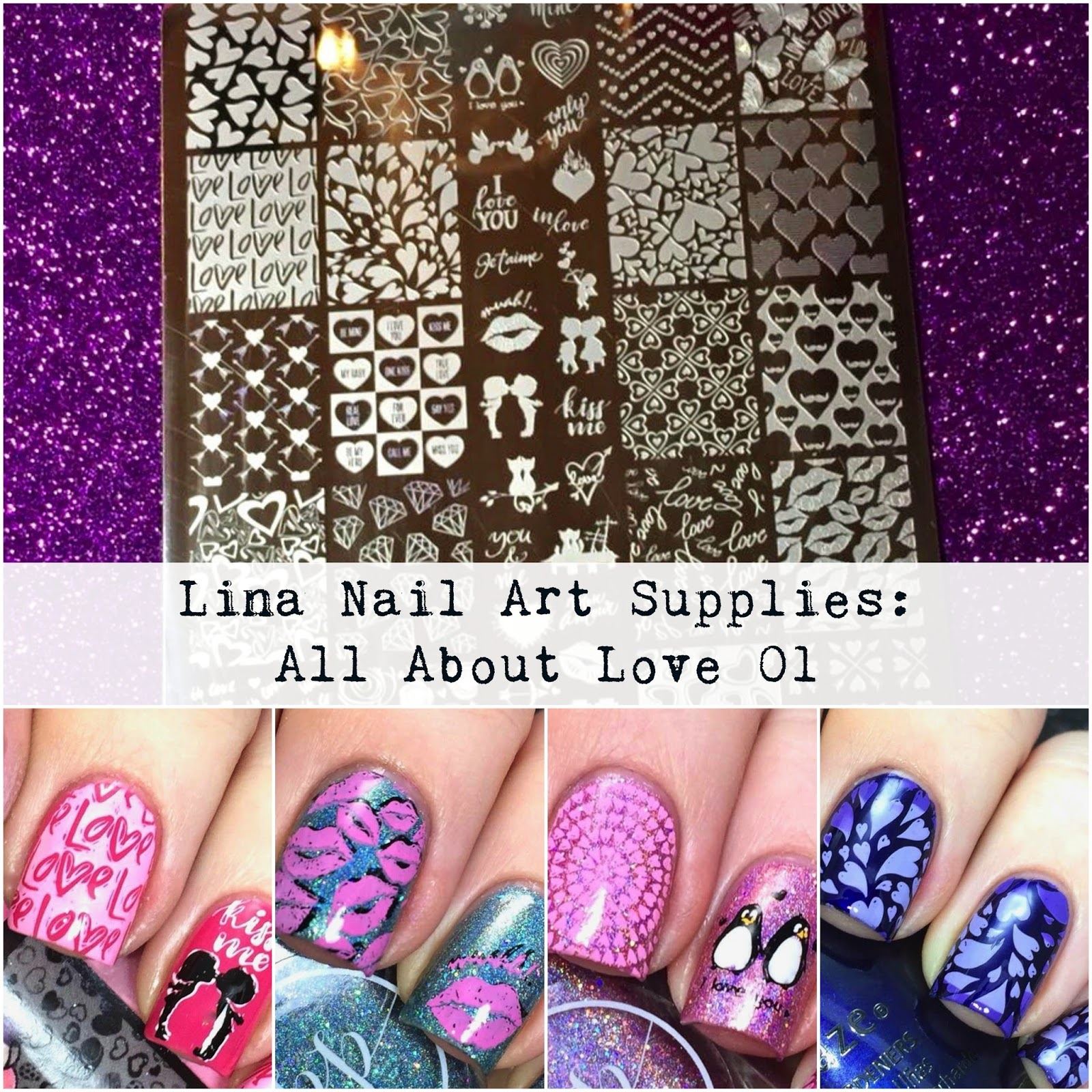 FairyTales Nails: Lina Nail Art Supplies: All About Love 01