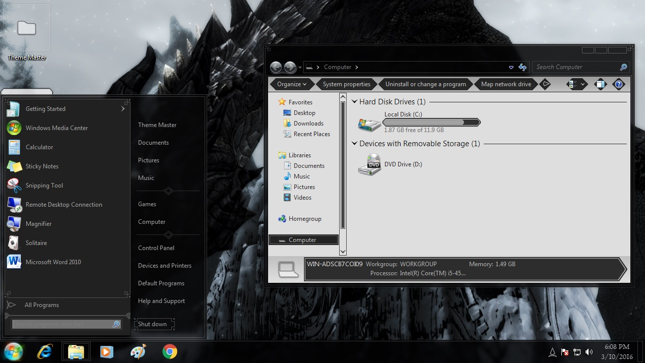 How to install Skyrim Transformation Pack on Windows XP