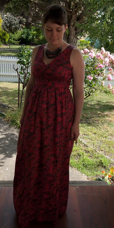 0489f4564b5b8 Boo Dogg and Me: The Liberty Maxi Dress: Simplicity 2638