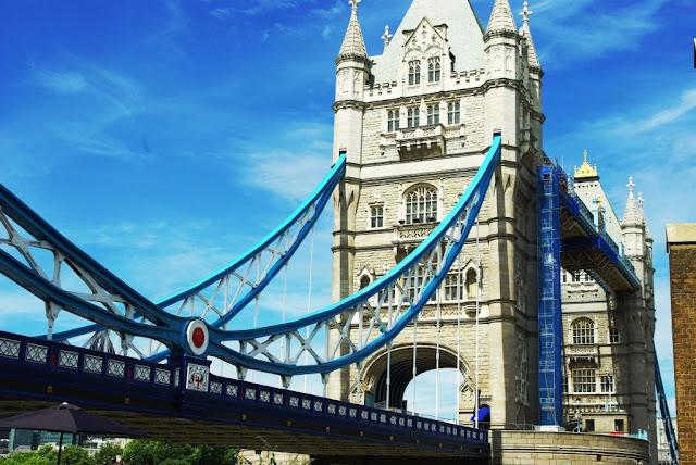Puente de la Torre de Londres (archivo del autor)
