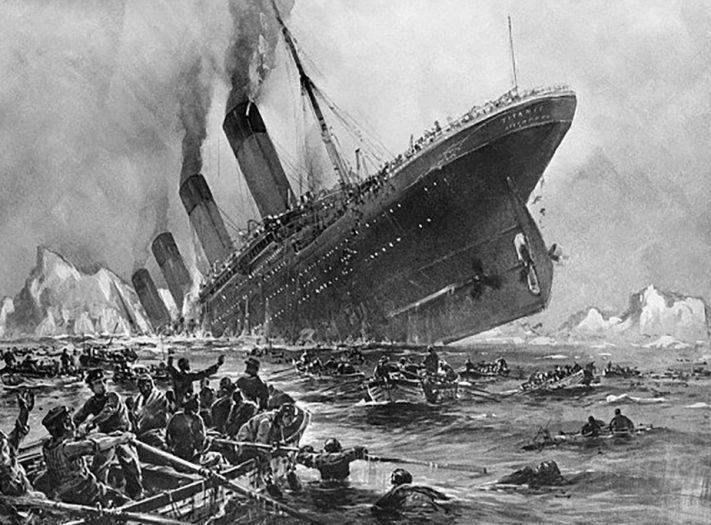حدث في مثل هذا اليوم: غرق السفينة تيتانيك