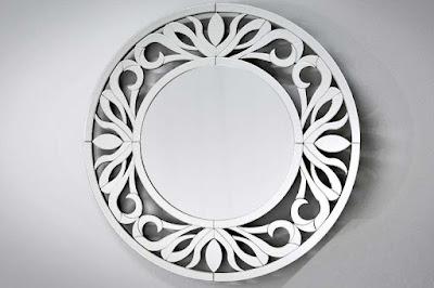 moderný nábytok Reaction, zrkadlá na stenu, okrúhle zrkadlá