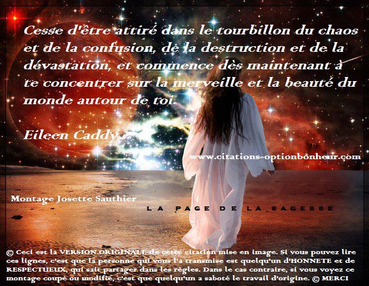 La Page De La Sagesse Citation Sur La Vie Eileen Caddy