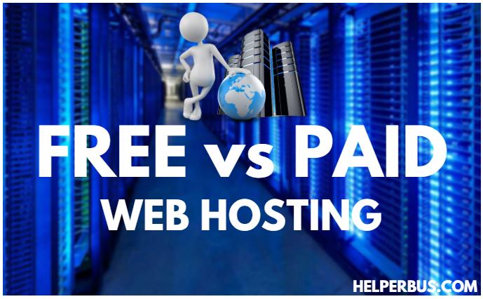 Free Vs Paid Web Hosting : Bloggers Ko Kya Use Karna Chahiye?