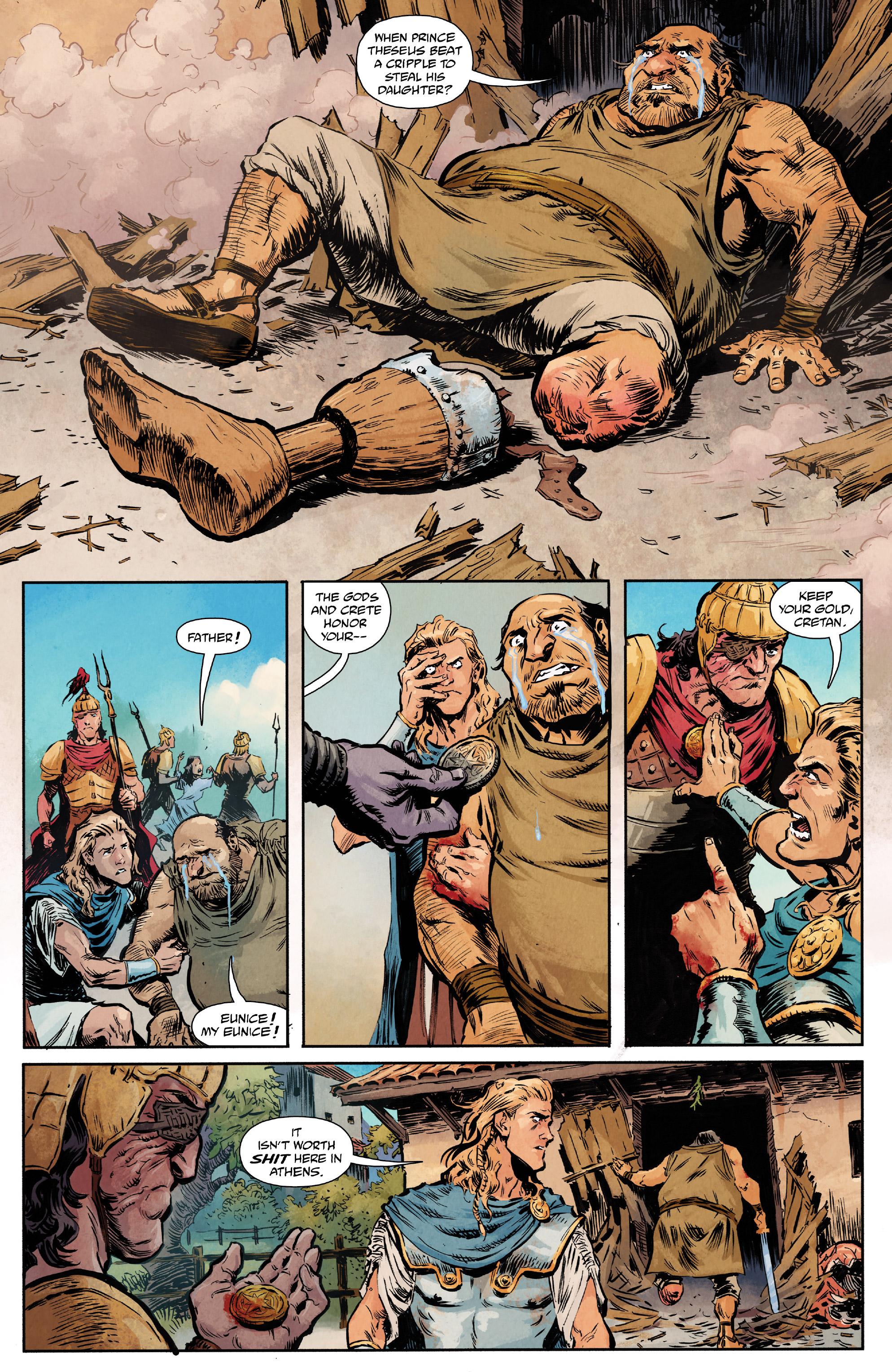 Kill The Minotaur 1 Read Kill The Minotaur Issue 1 Page 15