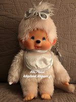 Monchhichi 40th Anniversary Platinum Girl 258960