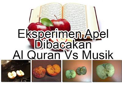begini jadinya Jika Apel Dibacakan Al Quran Vs Musik