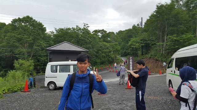 Toilet berbayar di Oze National Park, Jepang
