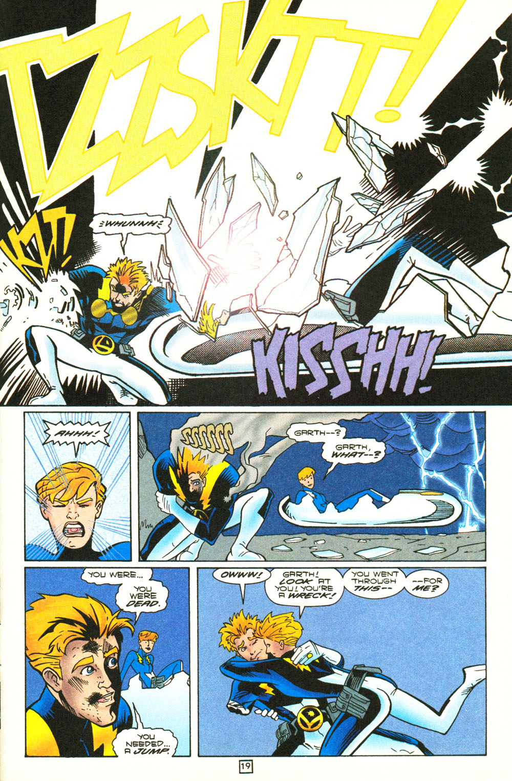 Legion of Super-Heroes (1989) 101 Page 19