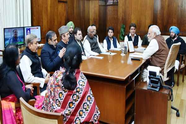 latest-hindi-news-rahul-gandhi-congress-leaders-meet-pm-modi