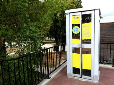 LE PETIT-QUEVILLY. Une boite à lire a été installée à proximité du square Marcel Paul.