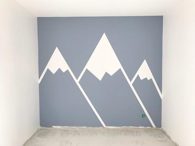 Diy une peinture d corative pour chambre d 39 enfant - Decoration maison peinture ...