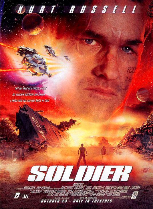 Ver El ultimo soldado (Soldier) (1998) Online