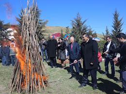 """Novruz bayramına həsr edilmiş """"Yurdumuza Bahar Gəlir"""" adlı ümumrayon tədbiri"""