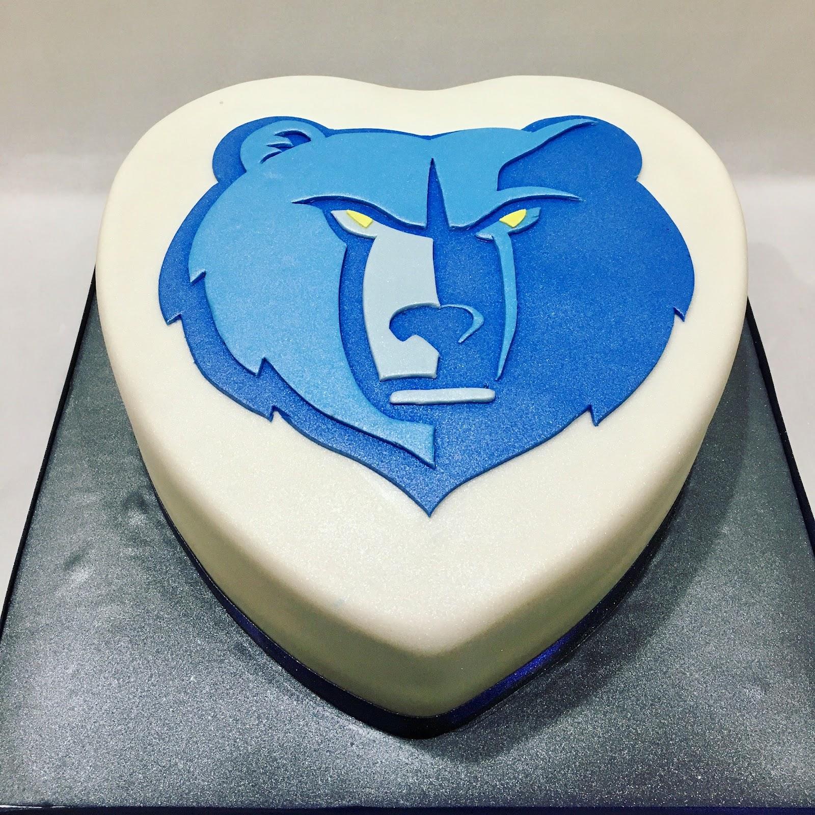 MyMoniCakes: Memphis Grizzlies Cake