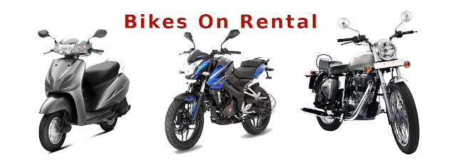 Bikes on rental in Mangalore