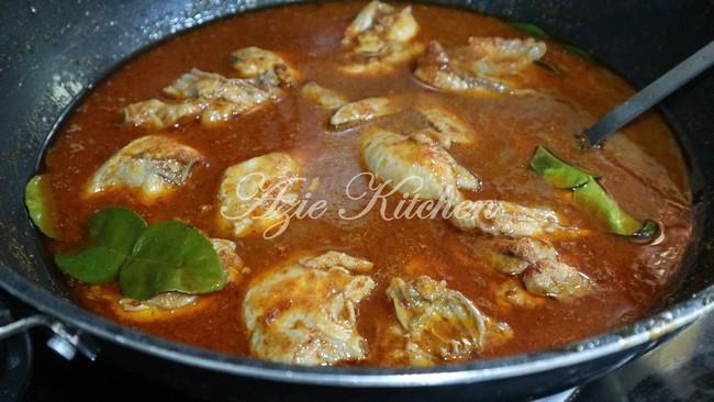 Asam Pedas Ayam Yang Sangat Sedap Azie Kitchen