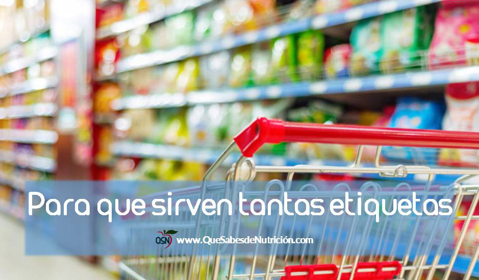 QSN: qué son las etiquetas colaborativas de los alimentos