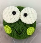 http://www.ravelry.com/patterns/library/decorative-frog-pillow-pal