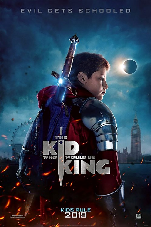 Review Filem The Kid Who Would Be King