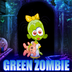 Games4king Green Zombie Girl Rescue