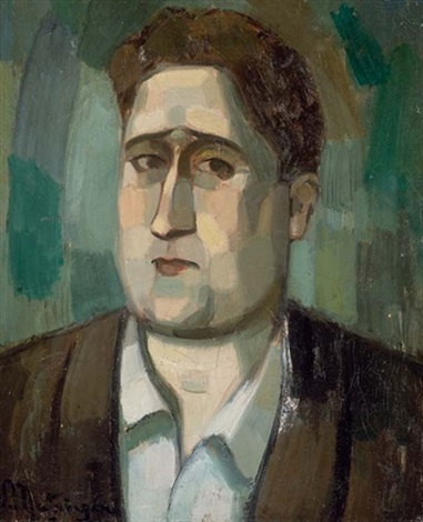 Guillaume Apollinaire by Jean Metzinger - VMAN
