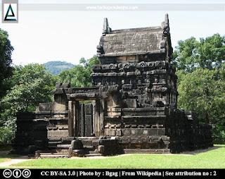 Gedige type image house, Nalanda