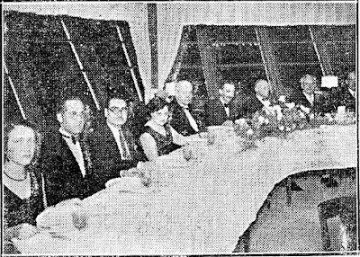 Cena de Homenaje al Club Ajedrez Barcelona en 1932