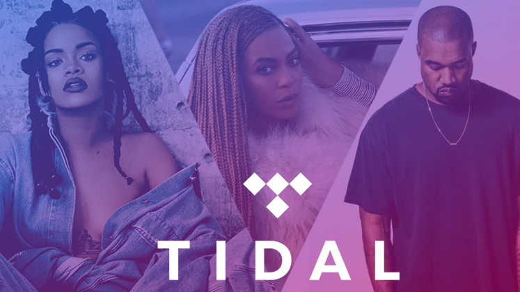 """Completando um ano do seu relançamento, Tidal estreia sua própria """"New Friday Music Releases"""" DAQUELE JEITO."""