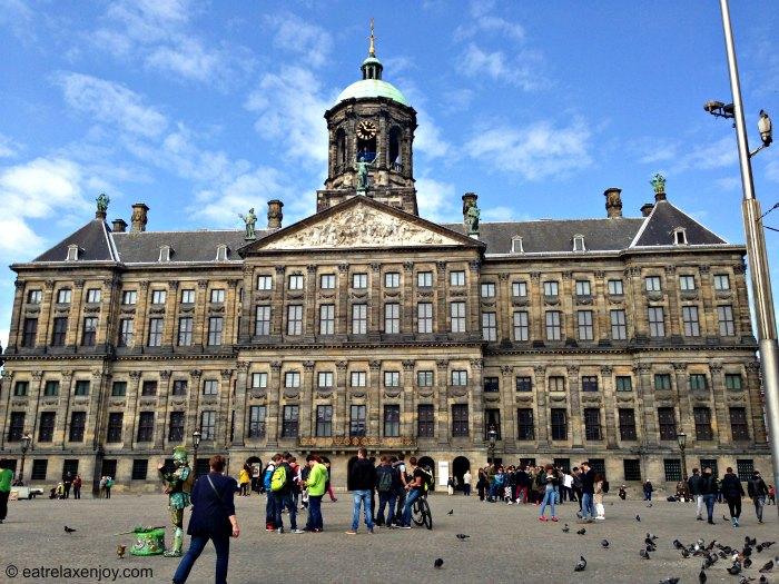 הארמון המלכותי באמסטרדם - הולנד