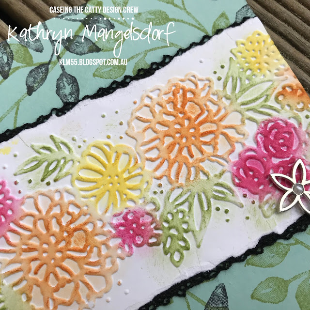 Stampin' Up! Detail Pair Textured Impressions Embossing Folder created by Kathryn Mangelsdorf