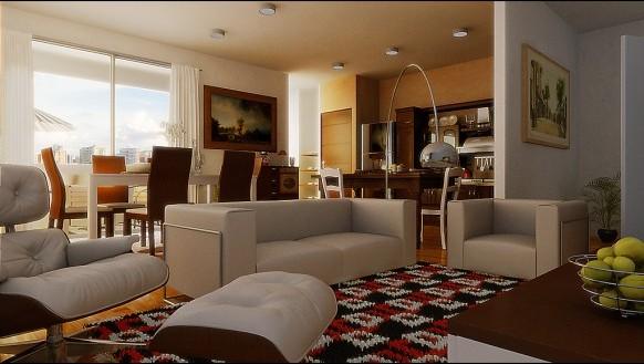 Muebles Sala Comedor. Interesting Agradable Sala De Estar Living ...