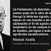 Recordando a Don Manuel Azaña en el ochenta aniversario de la guerra civil española