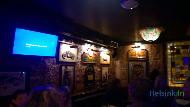 Karaoke Bar Restroom