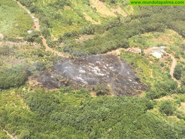 Tijarafe imparte formación en materia de extinción y seguridad de incendios forestales