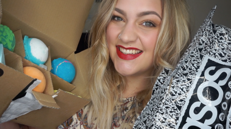 Collective haul - asos, lush, superdrug, b cosmetics