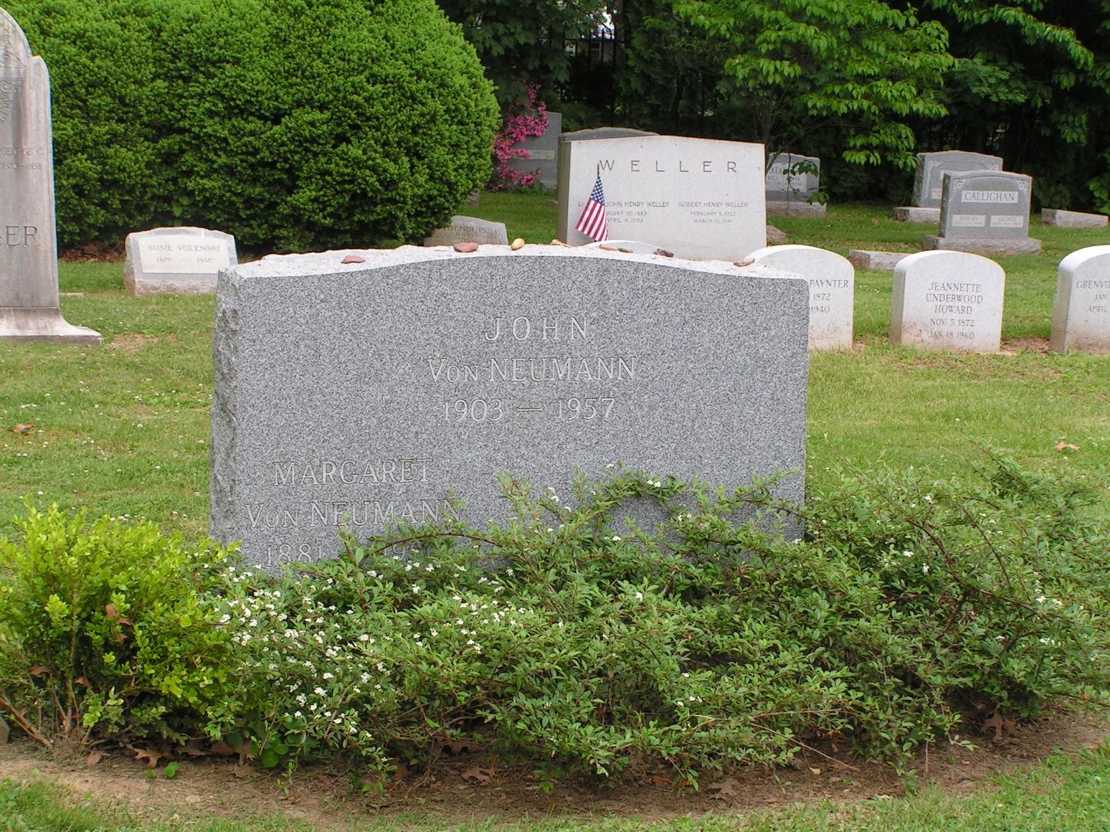 ジョン・フォン・ノイマンの墓