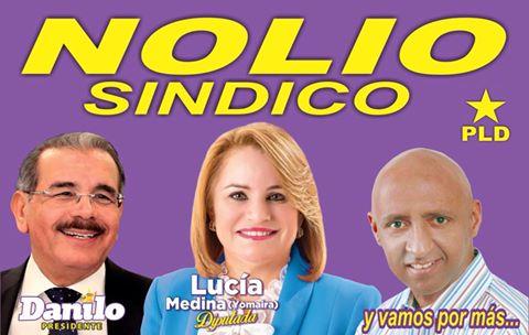 Llaman a votar por la tripleta ganadora. Danilo, Yomaira Medina y Nolio