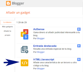 Widget perfiles sociales para Blogger Video Tutorial